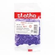 Пайетки ZTP 6 мм 10 г Темно-фиолетовый №17