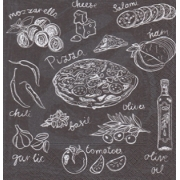 "Салфетка ""Bon appetit-6"" (3шт.)"