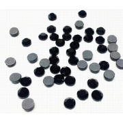 Термоклеевые стразы Zlatka 2.7 мм черные (144 шт.)
