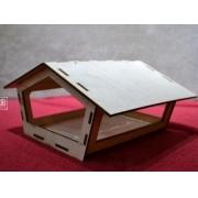 Кормушка для птиц 24х22.5х12.5 см