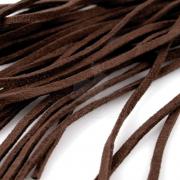 Шнур замшевый 3мм (1метр) коричневый