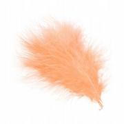 Перья декоративные персиковый, 30 шт.