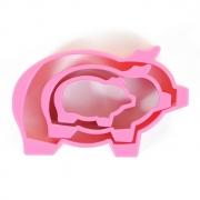 """Формочки для теста """"Свинка"""" (3шт.)"""