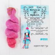 Волосы - тресс для кукол «Кудри» длина волос: 15 см, ширина: 100 см, №LSA036