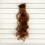 Волосы - тресс для кукол «Кудри» длина волос: 40 см, ширина: 50 см, №27В