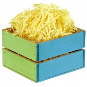 Наполнитель бумажный  для подарков 30 гр. желтый