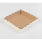 Коробочка для печенья 15х15х3см