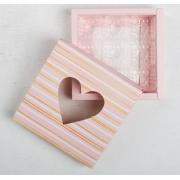 "Коробка для конфет ""От всего сердца"" 14х14х3см"