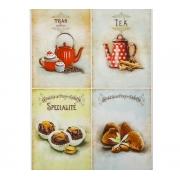 """Карта для декупажа А4 """"Чай с шоколадом"""" (1 шт.)"""