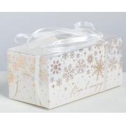 "Коробка для 2 капкейков ""Верь в сказку"" 8х16х7.5см"