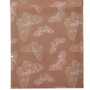 """Конверт (пакет) для сладостей """"Бабочки"""" 13х16см"""