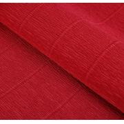 Гофрированная бумага 180г/м2 №17a/6 0.5х2.5м Красный (Италия)