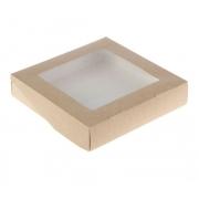 Контейнер с прозрачным верхом 20х20х4 см