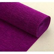 Гофрированная бумага №593 0.5х2.5м Фиолетовая (Италия)