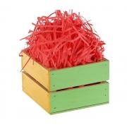Наполнитель бумажный для подарков 30 гр. коралловый