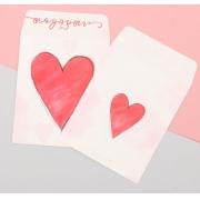"""Пакетик для сладостей """"С любовью"""" 8х10см"""