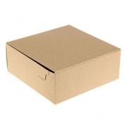 Коробка для торта крафт 25.5х25.5х10.5см