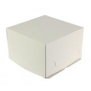 Короб для торта хром эрзац 30х30х19см