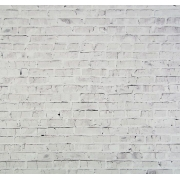 "Фотофон ""Белые кирпичи"", 70х100см, бумага 130г/м2"