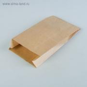 Пакет крафт 14х6х25 см (20шт.)
