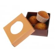 Коробка для сладостей 10х10х4.5см (1шт.)