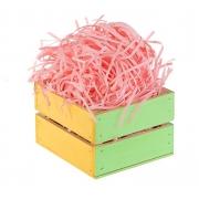 Наполнитель бумажный для подарков 30 гр. нежно-розовый