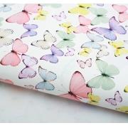 "Бумага ""Светлые бабочки"" 70х100см"