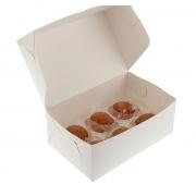 Коробка для 6 капкейков 25х17х10см