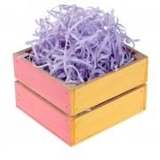 Наполнитель бумажный для подарков 30гр. фиолетовый