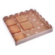 """Коробочка для печенья """"Хорошего настроения"""" 21х21х3см"""