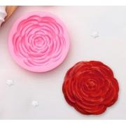 "Молд силиконовый ""Прекрасная роза"" 5,7х5,7х1,2 см"