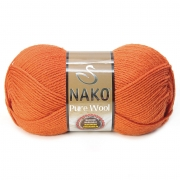 Пряжа Nako Pure wool (100г.) 6963