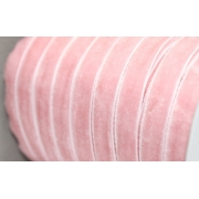 Лента бархатная 20 мм светло-розовый 067 (1 м)