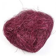 Сизалевое волокно (100гр), грязно-фиолетовый