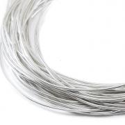 Канитель мягкая 0.5мм Silver (5грамм) 0007