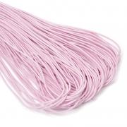Шнур эластичный 2мм EC-20 св.розовый (3 метра)