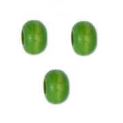 Бусины дерево HBO-01 4 мм (50 шт.) 13 зеленые