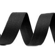 Лента киперная 12 мм черный (3 метра)