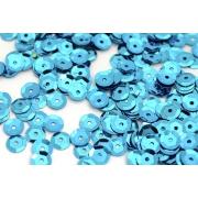 Пайетки 8 мм 10 г Голубой 17