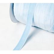 Лента бархатная VR-12 12 мм голубой 129 (1 м)