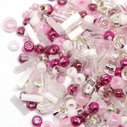 Бисер TOHO MIX 25грамм 3214 розово-малиновый