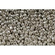 Бисер Тайвань 6/0 10г серебряный непрозрачный