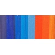 """Полоски для квиллинга """"Оранжево-синий микс"""" 08-03-200 (3 мм 200 шт.)"""