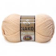 Пряжа Nako Pure wool (100 г) 219