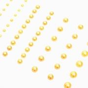 Набор клеевых полужемчужин APRL 08 (58шт.) под Золото