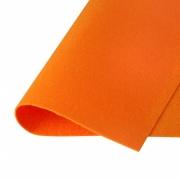 Фетр Корея FKS12-33/53 жесткий 33х53 см 1.2мм оранжевый 823