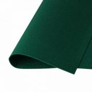 Фетр Корея FKS12-33/53 жесткий 33х53 см 1.2 мм темно-зеленый 873