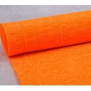 Гофрированная бумага №581 0.5х2.5м Оранжевый (Италия)