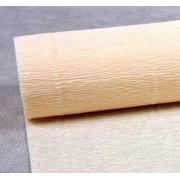 Гофрированная бумага 180г/м2 №603 0.5х2.5м Слоновая кость (Италия)