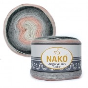 Пряжа Nako Angora luks color (150г.) 81916